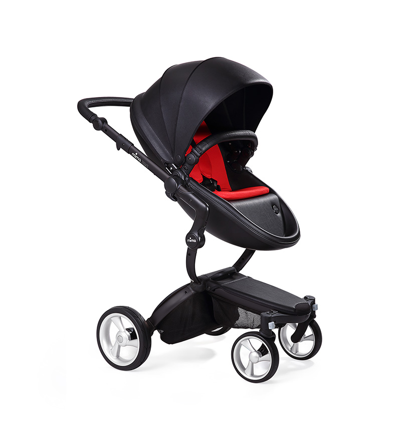 Mima Xari Black Black Ruby Red