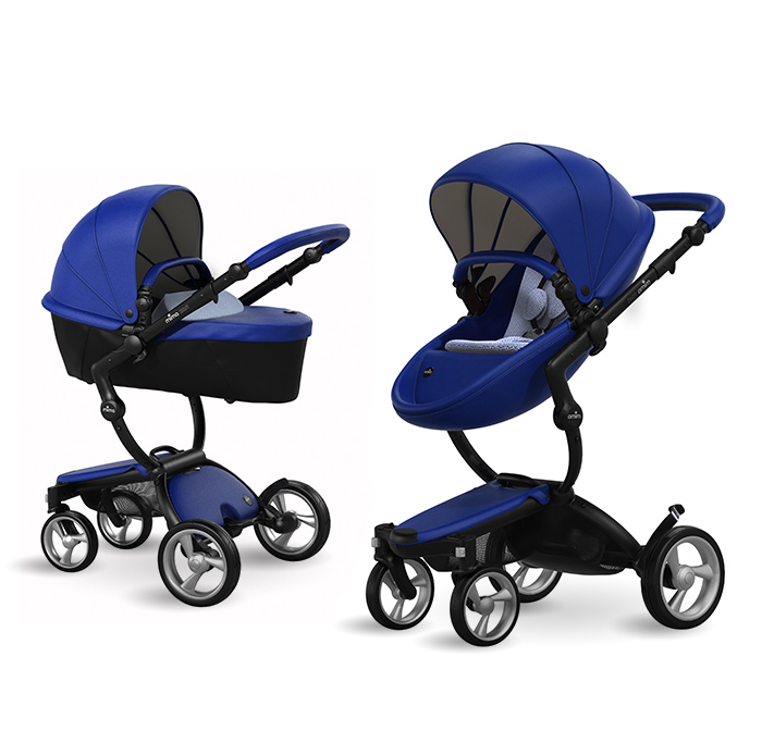 Mima Xari Bluewith bassinet included