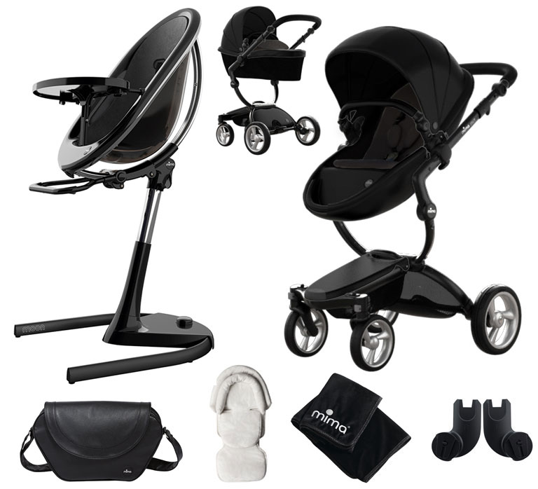 Mima Xari Black + Moon 2G Black Bundle